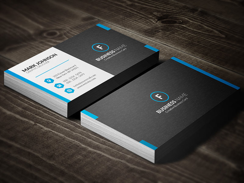 Template of business cards 29 best qr code business card examples identity mockups free reheart